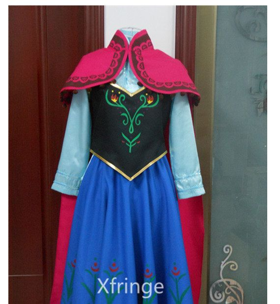 Hey, I found this really awesome Etsy listing at https://www.etsy.com/listing/189327792/frozen-anna-dress-anna-costume-anna