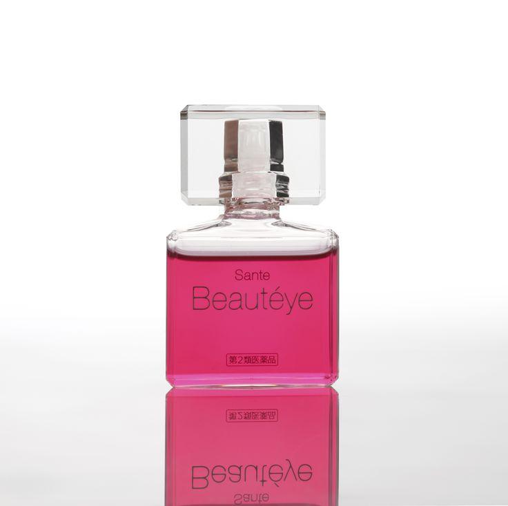 Designed by Tokujin Yoshioka. 吉岡徳仁デザイン #Tokujin Yoshioka  #Sante #コスメ #化粧品 #パッケージデザイン  #Design   #Package  #Cosmetic  #Inspiration   #Bottle #クリスタル  #目薬