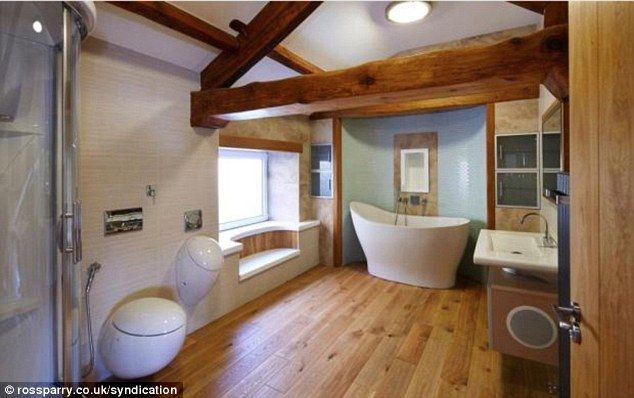 The bathroom inside the dream home of millionaire Segway boss Jimi ...