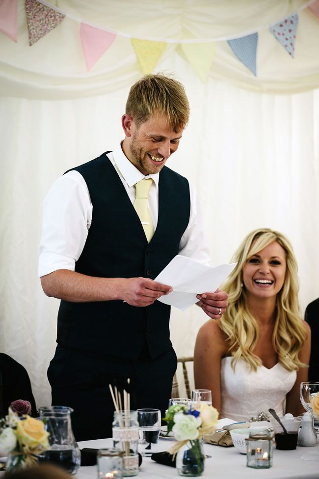Your guide to wedding speeches © helenliskphotography.co.uk