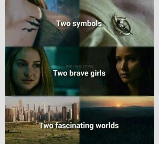Hunger Games and Divergent......which in your opinion is better? They can't be compared