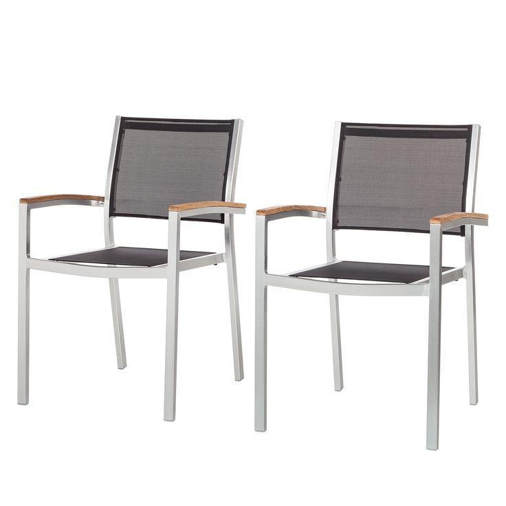 Gartenstühle alu schwarz  Die besten 25+ Gartenstühle aluminium Ideen auf Pinterest | Stuhl ...