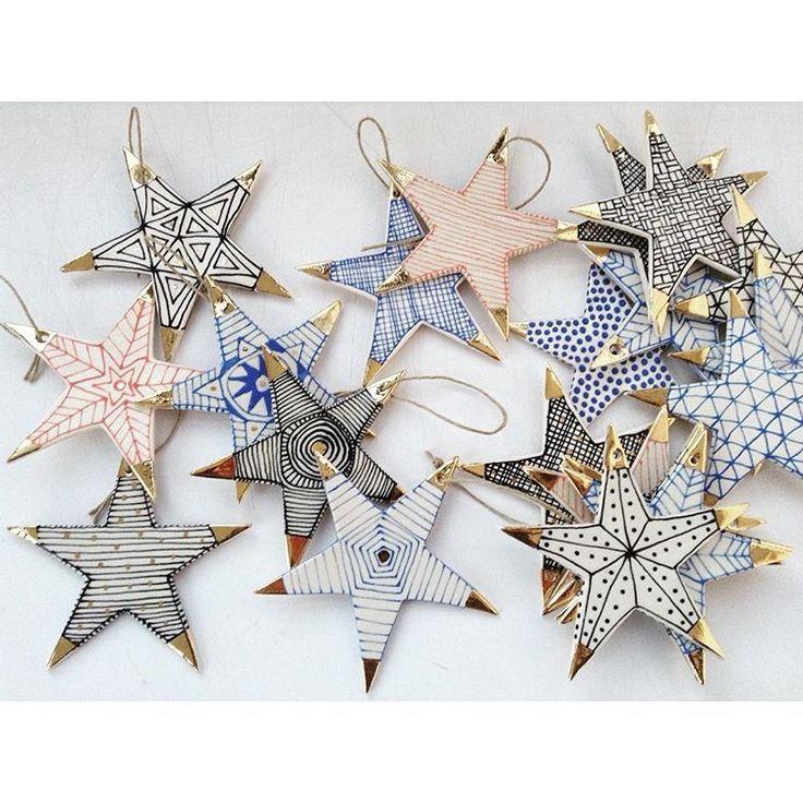 Wünsche dir etwas! #starlight #porcelain #ornaments #holidays LOVE ADORNED