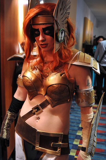 Angela (Spawn) cosplayed by Wow why did I not see this at Dragon Con! Soooo Good