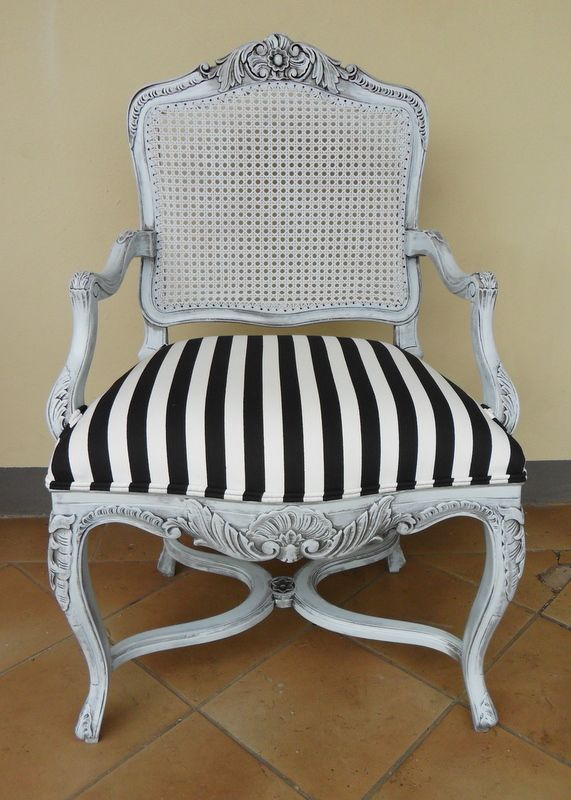 Simply Gorgeous Paint effect on this Regency style Arm Chair