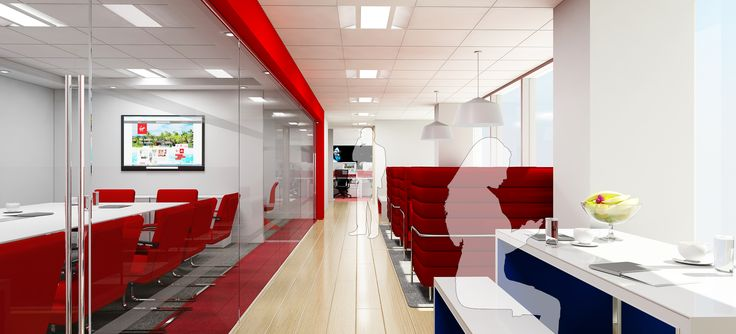 Red Breakout Area   Meeting Room   LC