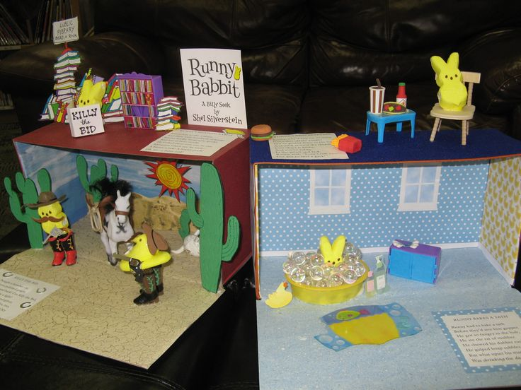 ADULT WINNER: 'Runny Peeps Babbit' by Kimberly B. (adult) / Missoula Public Library Peeps Show 2017 contest entry