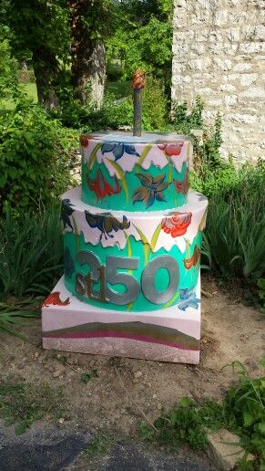 17 Best images about St Louis 250 birthday cakes on Pinterest