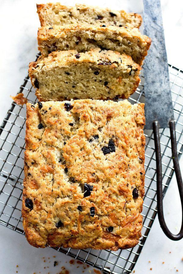Savoury Gruyere Olive Bread