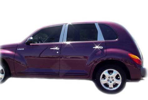 Chrysler PT Cruiser Accessory - Revelations Chrysler PT Cruiser 6-Pc Door Pillar Post Trim