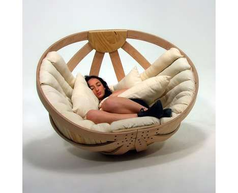 43 Sensational Circular Furnishings - From Unfolding Circle Furniture to Round Kitchens