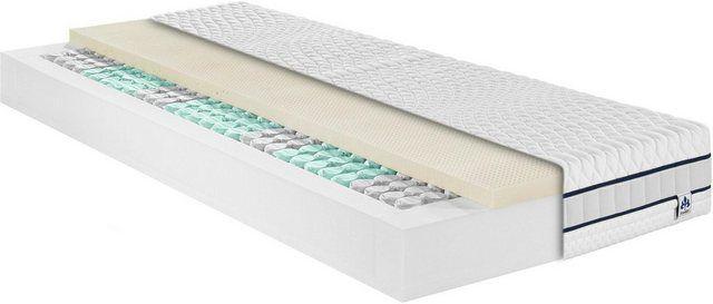 Taschenfederkernmatratze »Stralsund TFK«, , 22 cm hoch, 390 Federn, mit einer weichen-elastischen La