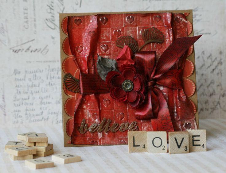 "Challenge ""Ink""  Card - Bajjka"