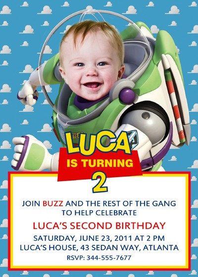 Printiable Toy Story Birthday Invitation Card 113