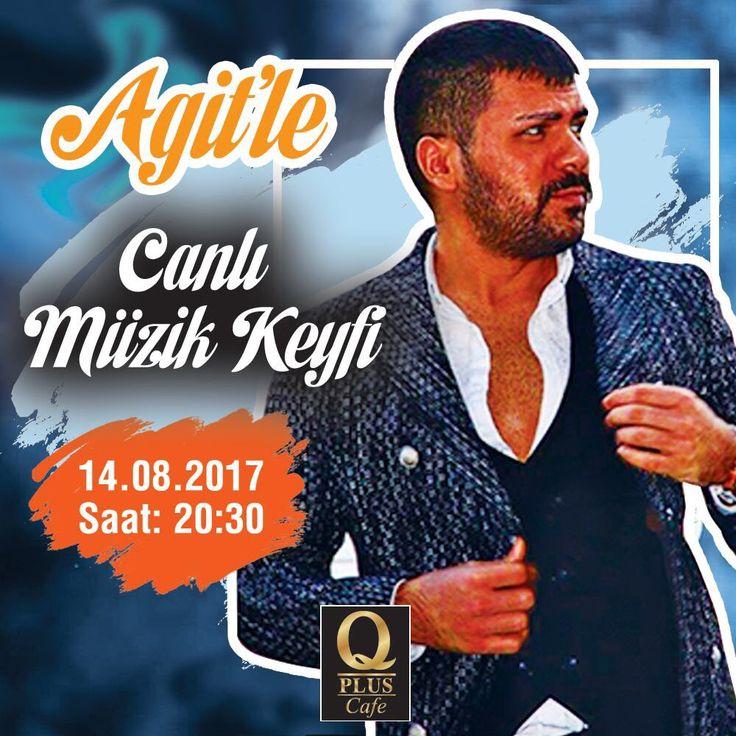 Agit'le canlı müzik keyfi Q Plus Cafe'de devam ediyor. Rezervasyon için: 0212 465 29 27 #Qpluscafe #CanlıMüzik #Agitaykut