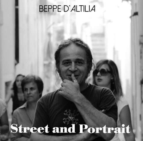Photo book dedicated to street photography in Italy and portraits always on the road and outside.