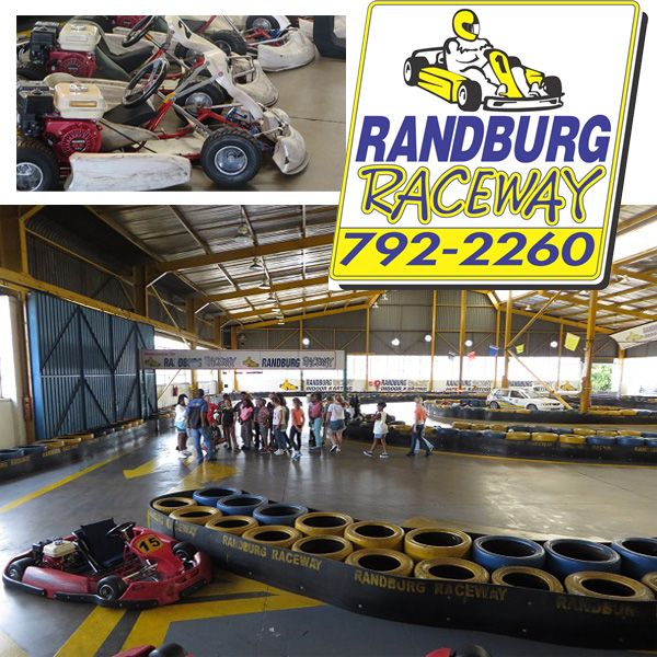 At Randburg Raceway we cater for drivers from 7 to 70.  With quick 10 minute races, Grand Prix style events and Endurance Races, we have something for everyone.  Randburg Raceway is the premier indoor go-karting spot in Johannesburg. We can cater for drivers from the age of 7 to 70 years. We are available for kids parties, corporate events, bachelor's parties and one on one challenges. Our chef offers a wide variety of items to choose from and our kiosk stocks refreshments and snacks to keep…