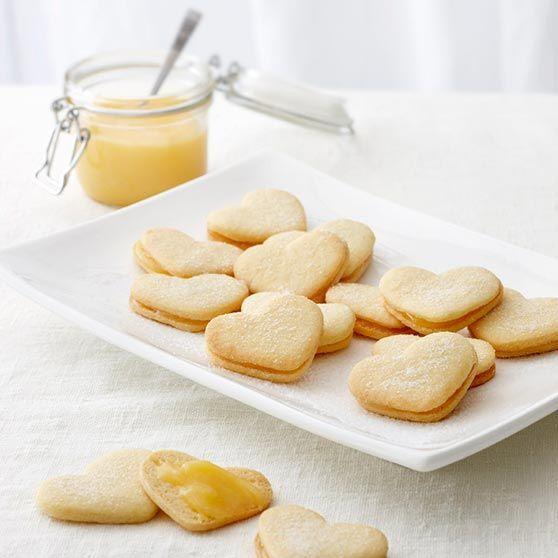 Herrasväen sitruunaiset pikkuleivät