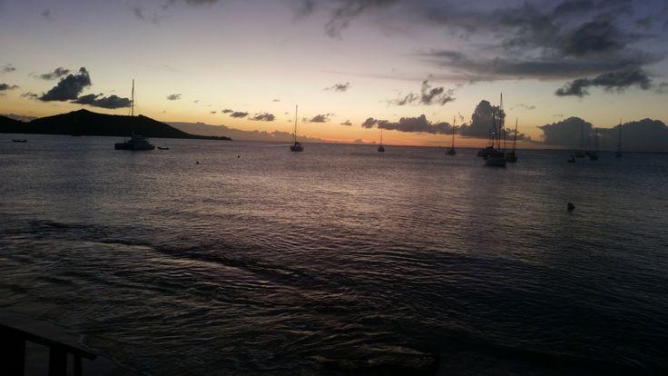Another great Sunset / Un autre beau coucher de soleil @ Le Shambala