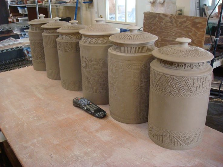 Insomnia Pottery Workshop: Some other handbuilt pottery....