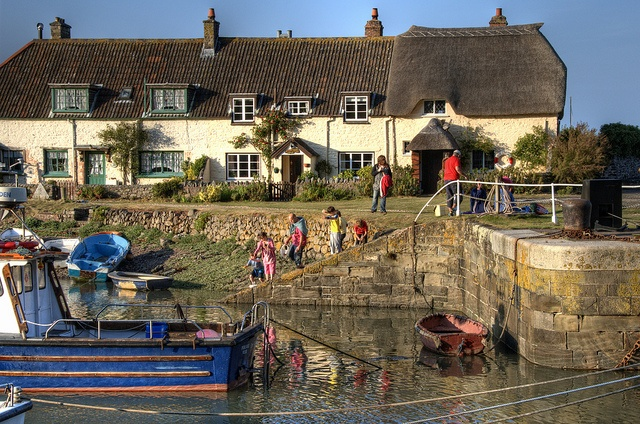 Crabbing at Porlock Weir; the BEST way to spend a lazy sunny day.
