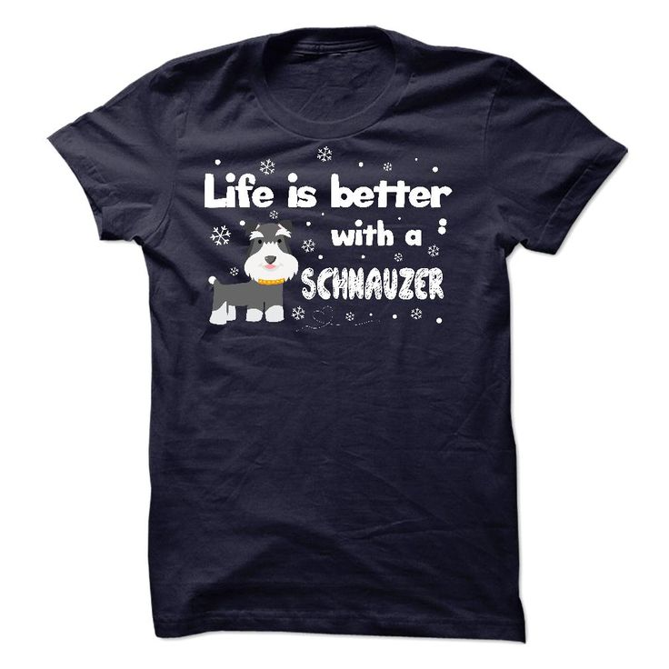 View images & photos of Schnauzer - Better t-shirts & hoodies