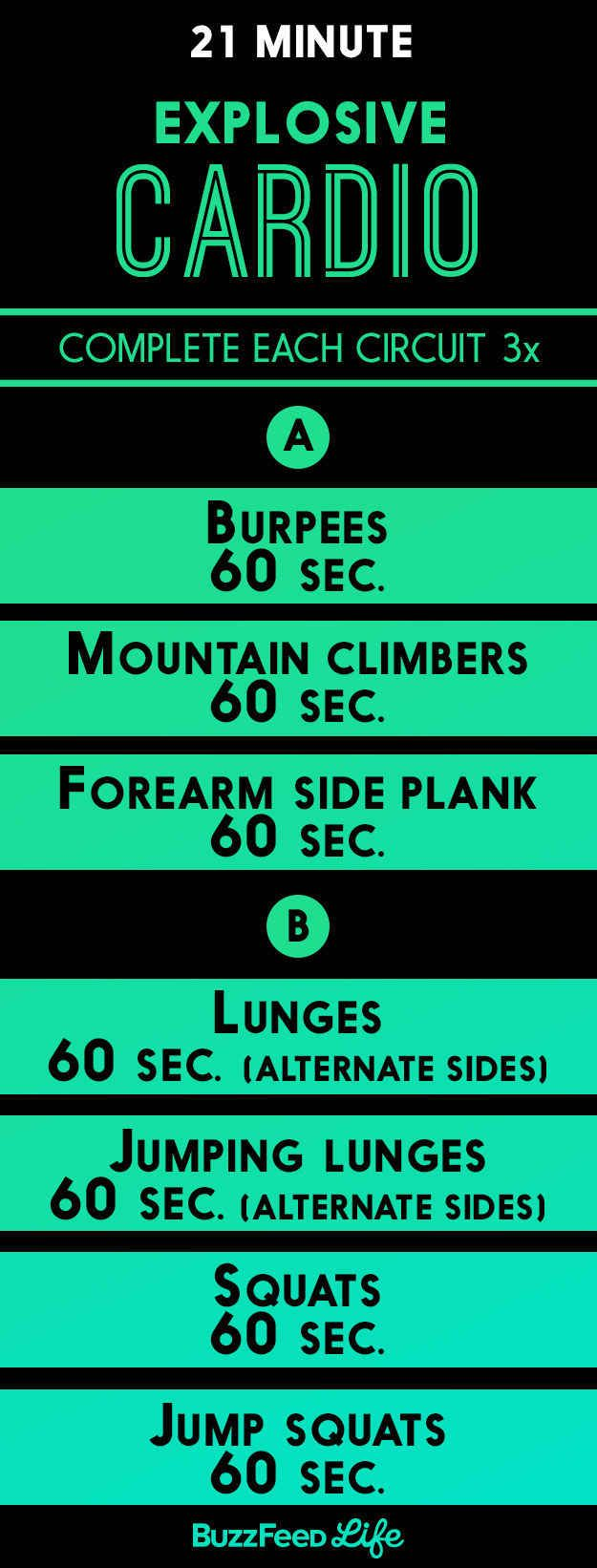 For a quick workout with plenty of jumping: