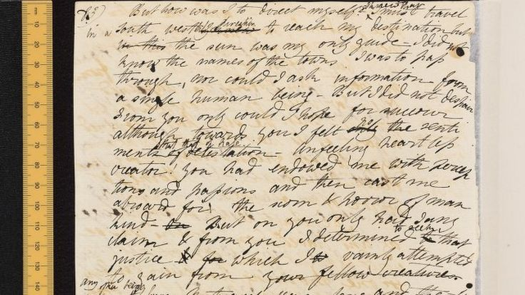 Creature Feature: The Original Frankenstein Text Is Now Readable Online