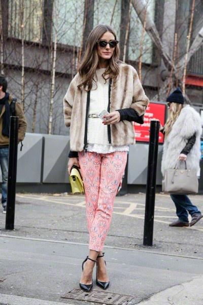 Olivia Palermo - Street Fashion in Londen