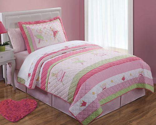 Princess Fairies Bedding For Little Girls 3pc Full Queen