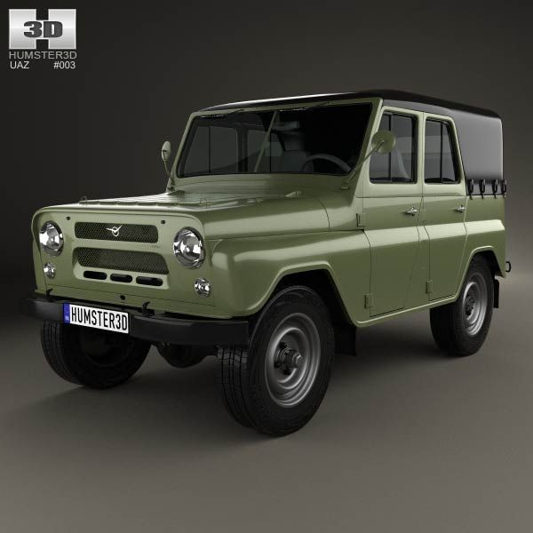 Land Rover Range Rover L405 2014 3d Model From Humster3d: 8 Best UAZ 3D Models Images On Pinterest