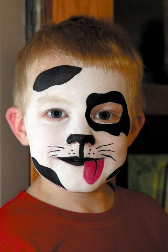 perro: Idea, Faces, Face Paintings, Makeup, Costume, Halloween, Kid