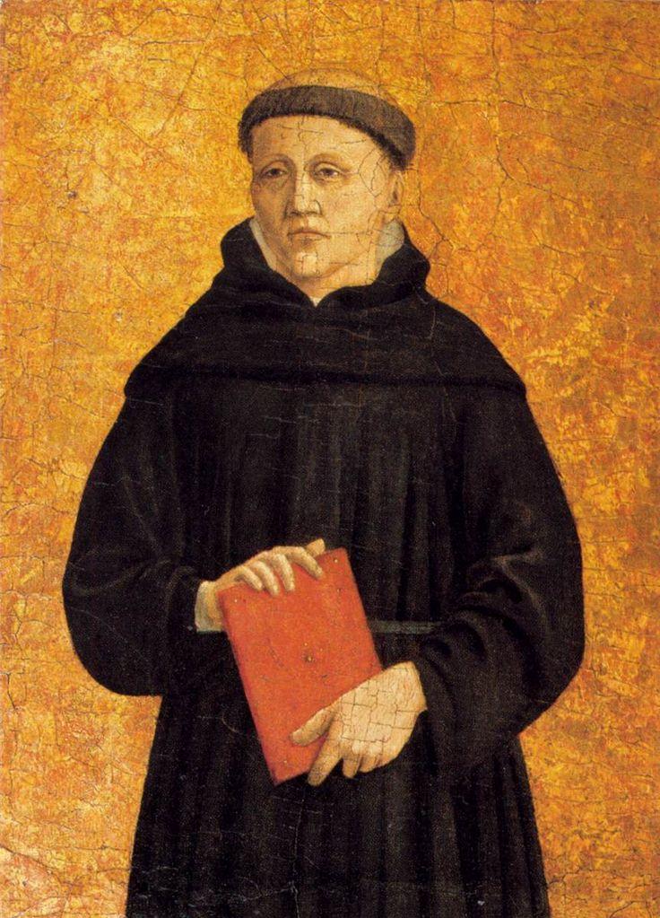 Augustinian Saint, c.1460 - Piero della Francesca - WikiArt.org