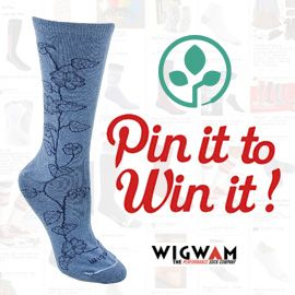 I just entered the PlanetShoes and Wigwam Pin to Win Contest! Share your fitness inspiration board and enter at