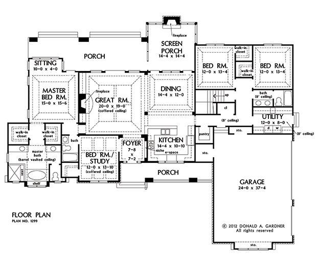 The Markham Kitchen Design Images On Pinterest: Plan Of The Week: The Markham #1299