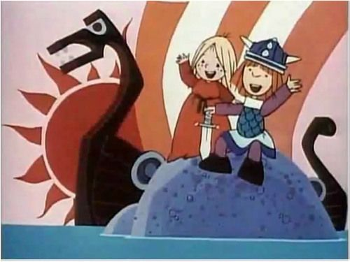 """Hey, hey, Vickie! Hey, Vickie, hey! Adapted from a children's book called """"Vicke Viking"""" by Swedish author Runer Johnson, a Japanese anime """"Vicky the Viking"""" is my the best cartoon show that I was hooked on when I wasnt even going to primary school. Vickie is a very amiable character with a strong imagination, a clever mind and full of creativity even as a ten years old."""