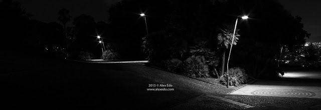 Alex Edo Fotografía: Salida nocturna Photowalk en blanco y negro