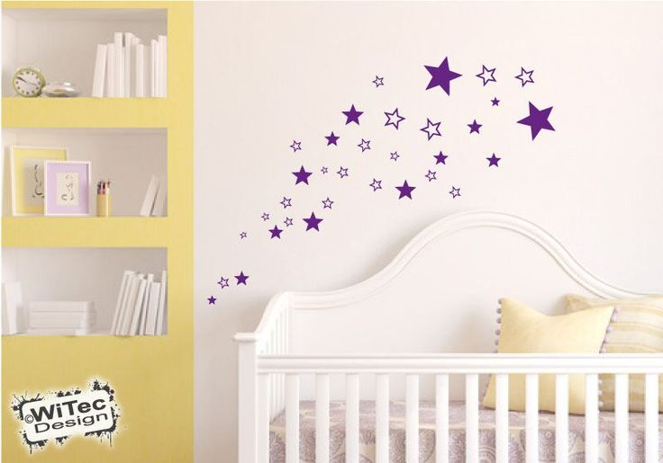 die besten 25 wandtattoo sterne ideen auf pinterest baby wandtattoo wandtattoo baby und. Black Bedroom Furniture Sets. Home Design Ideas