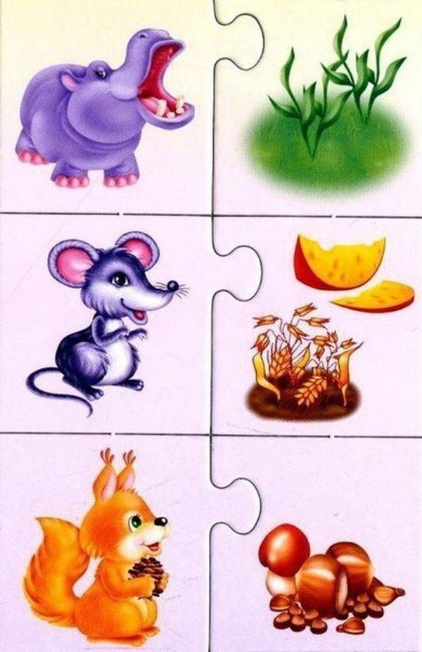 бегемот, мышь, белка