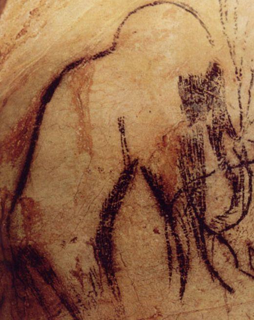 PECH MERLE - France - mammouth de la frise noire