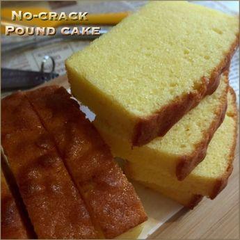 My Mind Patch: No-Crack Butter Pound Cake