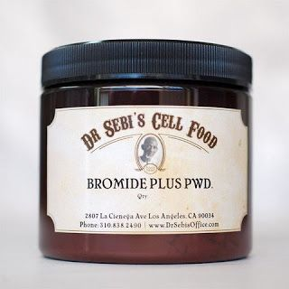 Review of Dr. Sebi's Bromide Plus Powder and ingredients.