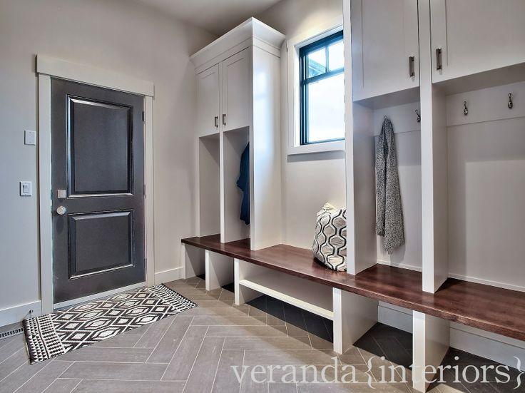 Mud Room Bench Cabinets