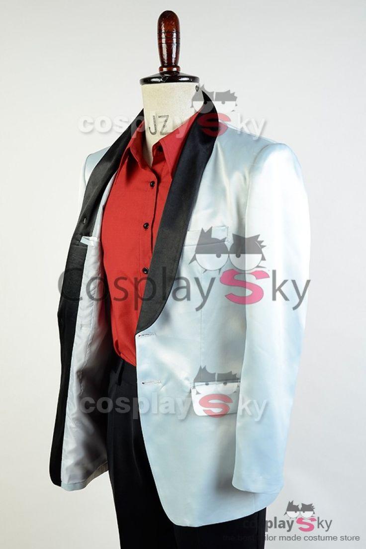 Suicide Squad Jared Leto Joker Cosplay Costume_7