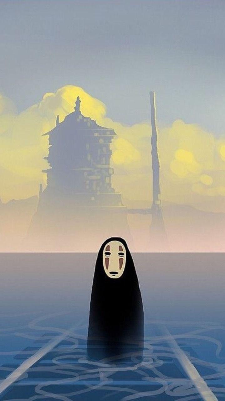 Lockscreens Spirited Away Requested Lockscreens Like Or Studio Ghibli Art Studio Ghibli Movies Studio Ghibli