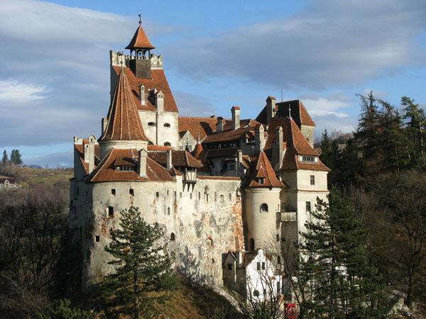 Bran Castle (Dracula's Castle) -- Brasov, Romania