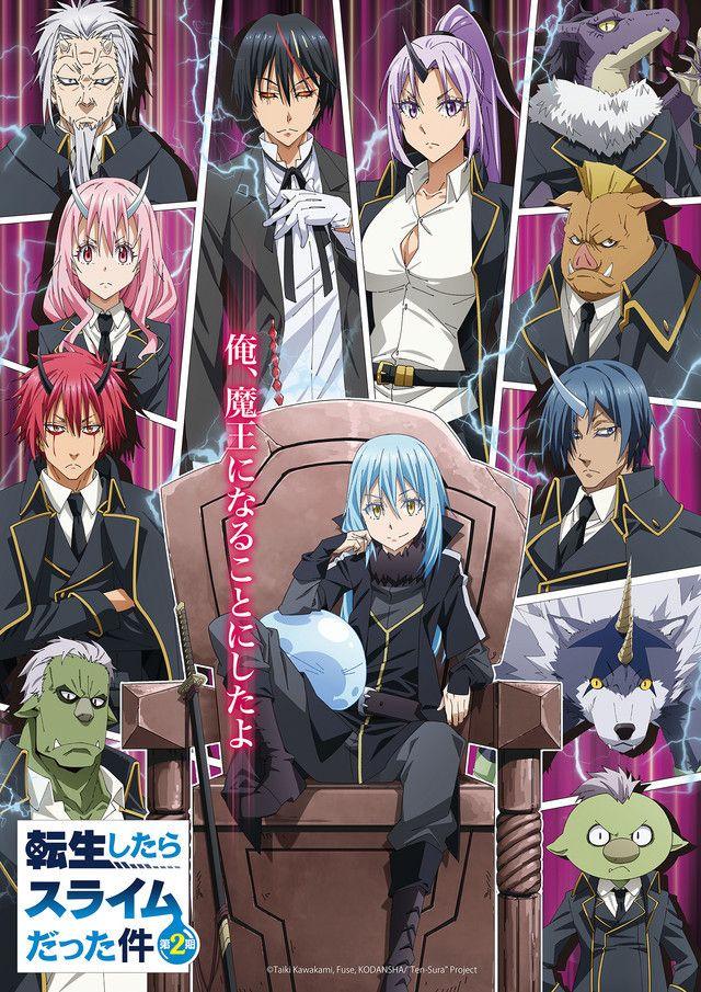 Crunchyroll On Twitter Anime Slime Season 2 Slime Wallpaper