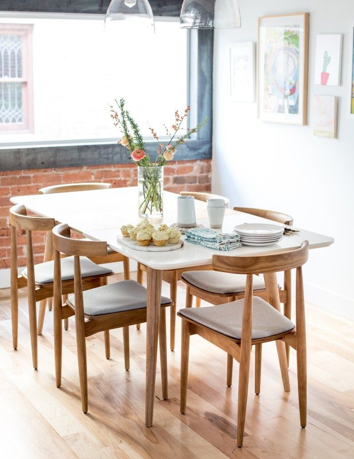 Mid-Century Modern Dining Table and Chairs
