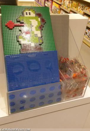 Yoshi LEGO   More here! http://lamaisonmusee.com/