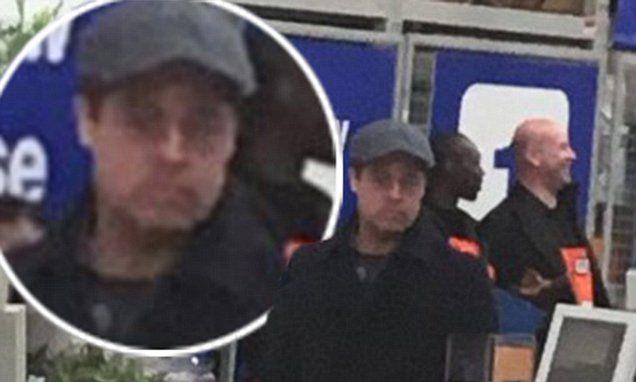Brad Pitt stuns shoppers during unlikely family trip to B&Q